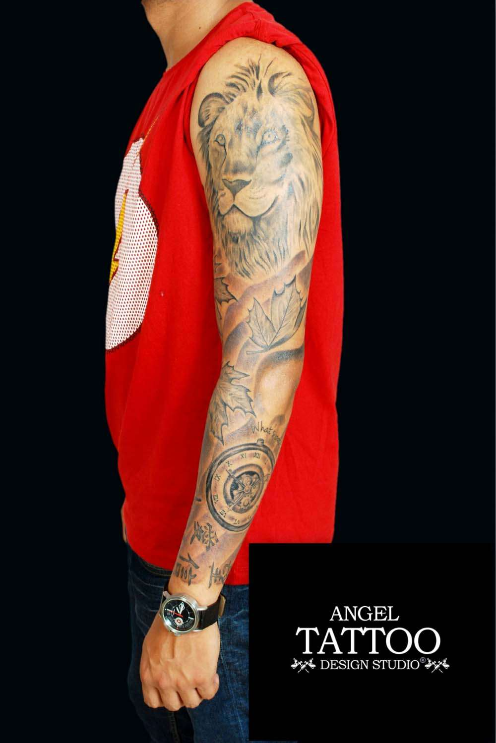 Sleeve Tattoo Image: Tattoos - Full Sleeve Tattoos