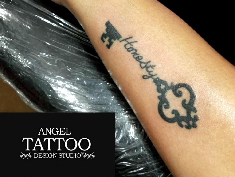 Small Key Tattoo: Best Small Tattoo Design Ideas For